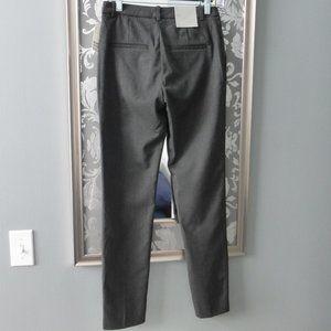 H & M Skinny Dress Pants Dark Grey Sz 2
